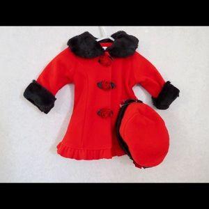 Winter Jacket W/Hat Infant